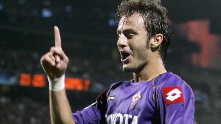 Fiorentina's Alberto Gilardino  (Foto: LIONEL CIRONNEAU/AP)