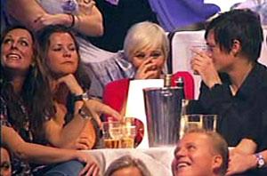 MORO: Paret Anne Rimmen og Ailo Gaup koste seg blant annet sammen med Annes søster Marte Stokstad (t.v.).