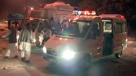 Islamabad-eksplosjon (Foto: APTN)