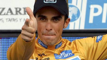 Alberto Contador  (Foto: MANUEL BRUQUE/EPA)
