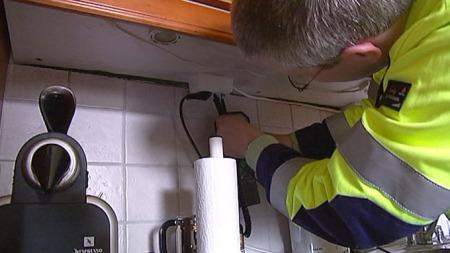 El-feil elektriker (Foto: TV 2)