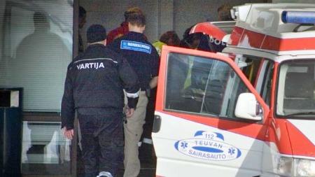 Matti på sykehus Tampere (Foto: AFP)