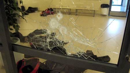 Bilder fra skolen i Jokela der Pekka-Eric   Auvinen (18) skjøt og drepte åtte mennesker 7. november 2007. (Foto:   HO/AFP / SCANPIX)