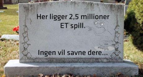 et-spill-gravstein