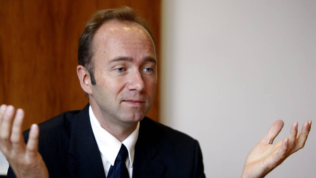Kulturminister Trond Giske uttaler seg om dommen som tillater politisk tv-reklame i Norge.  (Foto: Falch, Knut/SCANPIX)