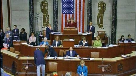 Representantenes hus i kongressen usa (Foto: APTN)