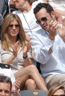 HET ROMANSE: Jennifer Aniston og Vince Vaughn ble et par under innspillingen av «The Break Up».