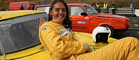 Rally-Ragnhild bonderomantikk (Foto: Beate Larsen)