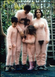 halloween kostyme crazy familie