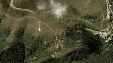 Kjempekanin-2 (Foto: Faksimile / Google Earth)