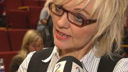 SKUFFET: Debattleder Inger Lill Olsen var svært skuffet over manglende interesse fra politikerne. (Foto: Bjarte Fossfjell, ©TV 2)