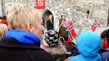 Fiona og presidenten (Foto: Runar Kristiansen / TV 2)