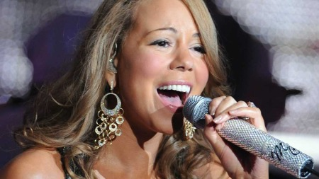 KATASTROFALT: Mariah Carey er en av de dårligste popartistene til å skuespille.