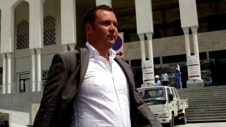 Vince   Acors dømt for strandsex i Dubai. (Foto: EPA/SCANPIX)