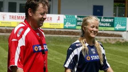 TREKKER SEG: Lene Mykjåland og fire andre Røa-spillere trekker seg fra landslaget.  (Foto: Åserud, Lise/SCANPIX)