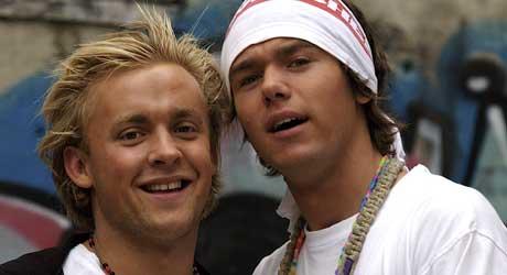 HELT ÆRLIG: Kjetil og Tobias lover å gi alle seerne en ærlig, leken og mer naken sending.