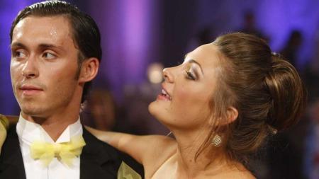 UT AV «SKAL VI DANSE»: Jenny Skavlan røk ut av det populære danseprogrammet.