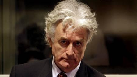 Krigsforbrytertiltalte Radovan Karadzic.  (Foto: EPA/SCANPIX/EPA)