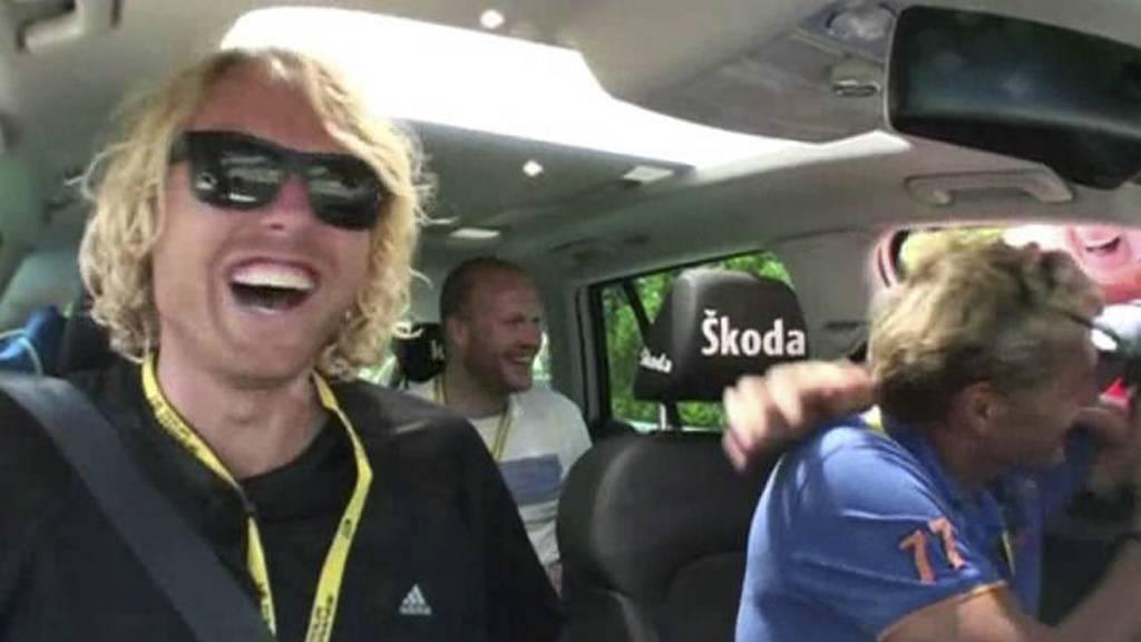 Erlend Mamelund og Dag Otto Lauritzen (Foto: TV 2/TV 2)
