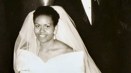 Michelle Obama brud (Foto: Anonymous/AP)