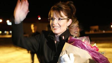Sarah Palin tilbake i Alaska