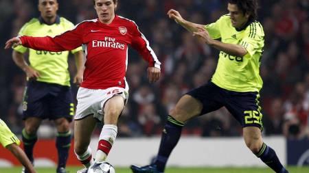 Arsenal's Welsh midfielder Aaron Ramsey  (Foto: ADRIAN DENNIS/AFP)