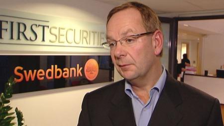 SAS-analytiker i First Securities, Hans Erik Jacobsen, mener SAS vil forsvinne. ( ©TV 2)