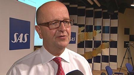 - De dårlige resultatene skyldes nedskrivninger, forteller konsernsjef i SAS, Mats Jansson. ( ©TV 2)