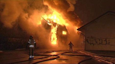 Flere personer mistet livet  brannen på Gulskogen i Drammen. (Foto: Tor Keiser/TV 2)