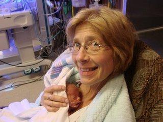 Jacilyn Dalenburg fødte sin datters trillinger.