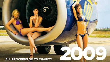 Ryanair kalender 2009 (Foto: Ryanair)