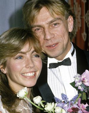 LYKKELIGE: Anita Skorgan og Jahn Teigen giftet seg i 1984
