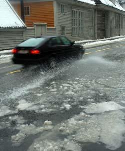 På Vestlandet blir det mer som dette, enn winter wonderland denne uken... (Foto: Ronald Toppe)
