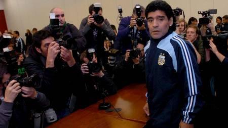Maradona  (Foto: Crawford Brown/EPA)