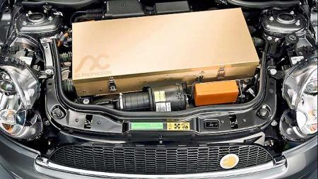 BMW MINI E motor (Foto: AP)