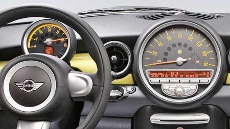 BMW mini e dashbord (Foto: BMW)