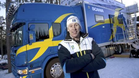 TROR IKKE PÅ NORGE: Gunde Svan slakter Norges medaljemål. (Foto:   Wiklund, Anders/SCANPIX)