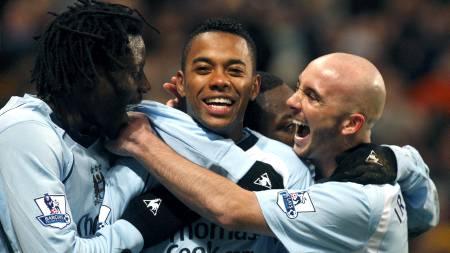Manchester City  (Foto: Jon Super/AP)