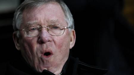 Manchester United's manager Alex Ferguson  (Foto: DARREN STAPLES/SCANPIX)