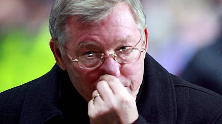 Manchester United FC's manager Sir Alex Ferguson  (Foto: STEVE WOODS/EPA)