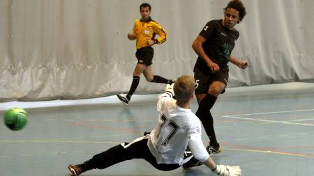 Futsal  (Foto: Sigurdsøn, Bjørn/SCANPIX)