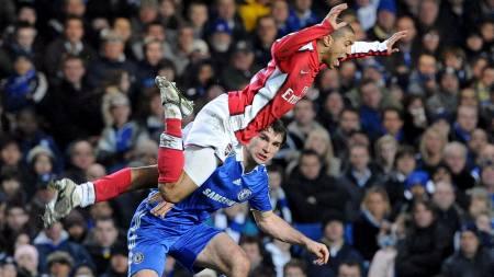 Gael Clichy kan få sin 250. kamp for Arsenal. (Foto: Gerry Penny/EPA)