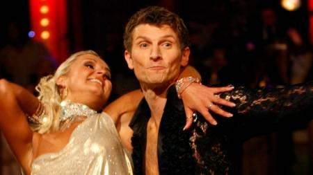 Tore André Flo og Nadya Khamitskaya  (Foto: Åserud, Lise/SCANPIX)