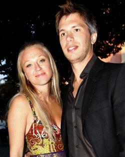 Nicolai Cleve Broch og kona