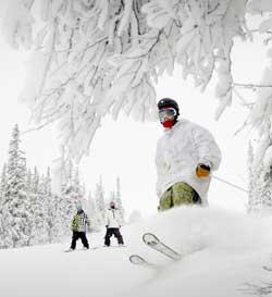 ... og på ski! (Foto: Ola Matsson, Trysilfjellet Alpin AS)