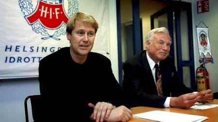 Åge Hareide 1997 (Foto: Pressens Bild/Scanpix)