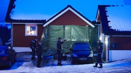 Ann-Mari Solås (32) ble drept rett utenfor sitt eget hjem. Politiet   fikk melding om drapet like etter klokken halv åtte tirsdag 16. desember.   (Foto: Bjørn Erik Rygg Lunde)