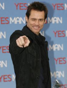 PREMIEREKLAR: Jim Carrey på premieren for filmen «Yes Man».