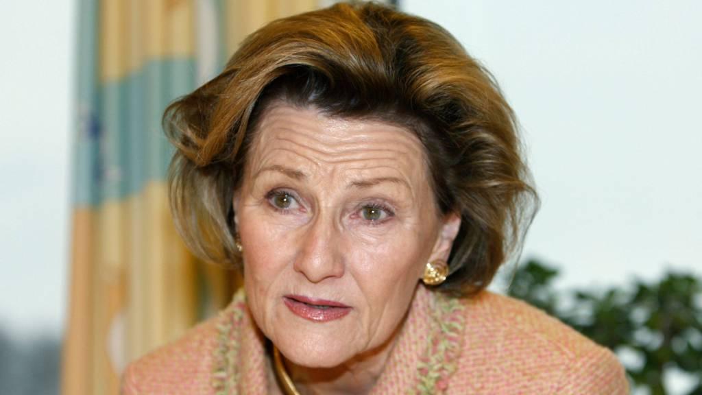 Dronning Sonja besøkte Barneklinikken på Ullevaal sykehus i Oslo torsdag.  (Foto: Åserud, Lise/SCANPIX)