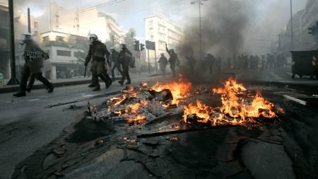 Aten, Hellas.  (Foto: JOHN KOLESIDIS/REUTERS/SCANPIX/)